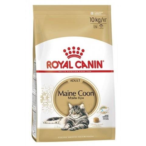 Royal Canin Maine Coon Adult сухой корм для взрослых кошек породы Мейн Кун 10 кг