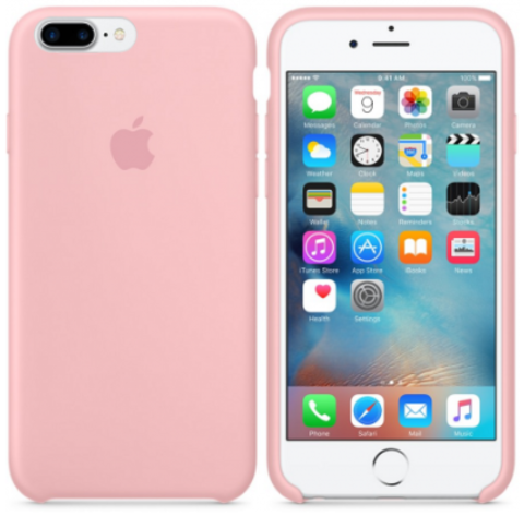 iPhone 7Plus/8Plus Silicone Case Светло Розовый
