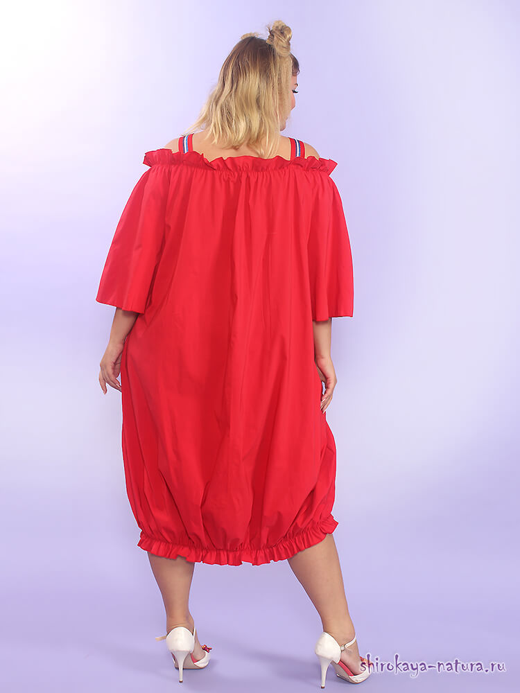 Платье из бенгалина Кэролайн