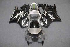 Комплект пластика для мотоцикла Honda CBR954RR 02-03 Черно-Серебристый Заводской