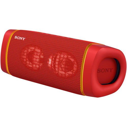 SRS-XB33R портативная акустика Sony EXTRA BASS, красный цвет