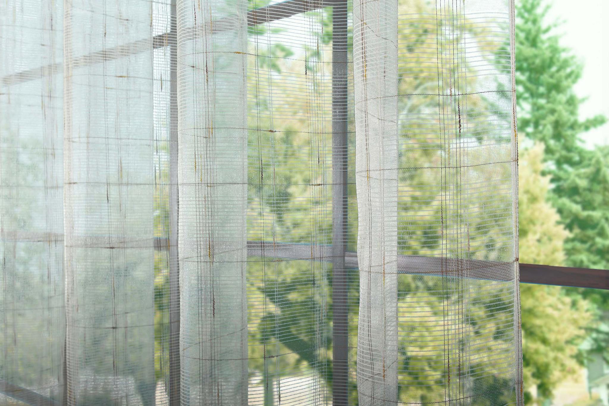 Готовый тюль сетка Монтэ (сливочный)