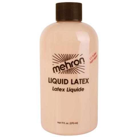 MEHRON Жидкий латекс бежевый Latex Liquid Soft Beige, 480 мл