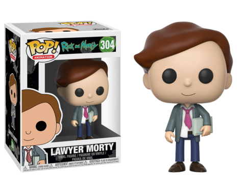 Funko POP! Vinyl: Rick & Morty S3: Lawer Morty