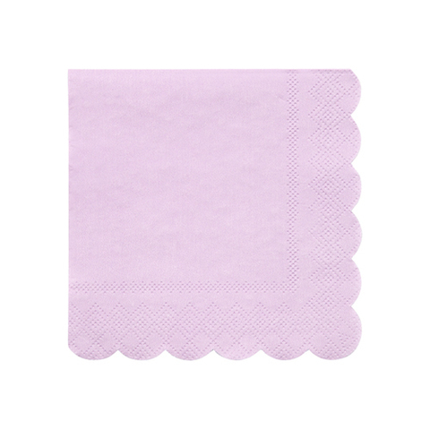 Салфетки фиолетовые маленькие