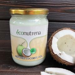 Масло кокосовое органическое рафинированное