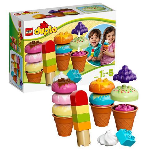 LEGO Duplo: Весёлое мороженое 10574