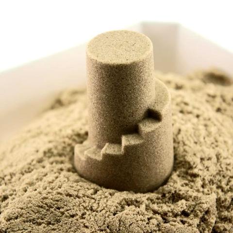 Кинетический песок Arhi-Sand, 2 кг + 6 формочек