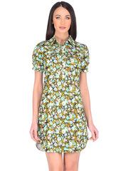 WD2473F-1 платье женское, зеленое