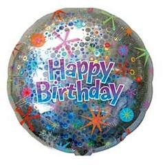 Фольгированный шар Happy birthday 3D