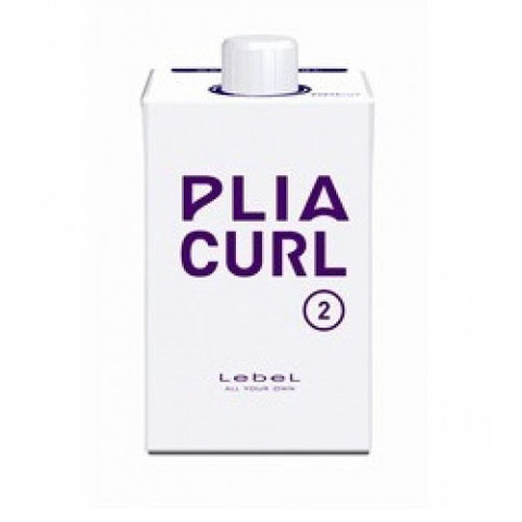 LEBEL PLIA CURL 2 - Средство для химической завивки (ШАГ 2)