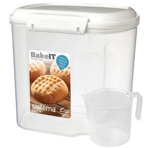 Контейнер BAKE-IT с мерным стаканом, 2,4 л