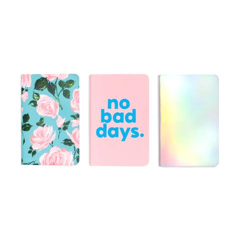 Набор из 3х блокнотов ban.do - Rose Parade/No Bad Days