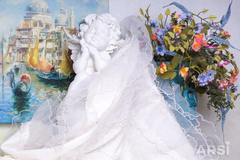 ARSI Плед вязаный на выписку Венеция