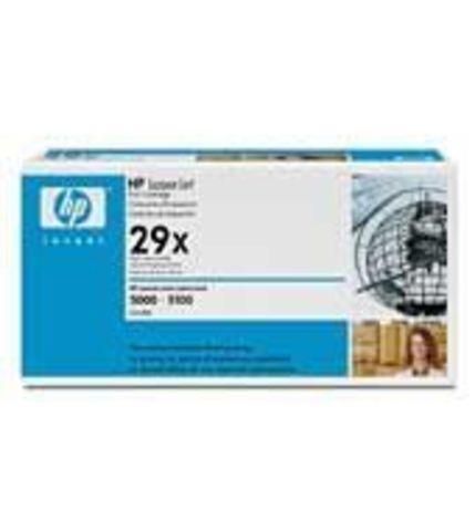 Картридж HP C4129X для принтеров Hewlett Packard LaserJet 5000, 5100. (ресурс 10000 страниц)