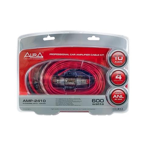 Комплект подкл. AURA AMP-2410 4*10GA