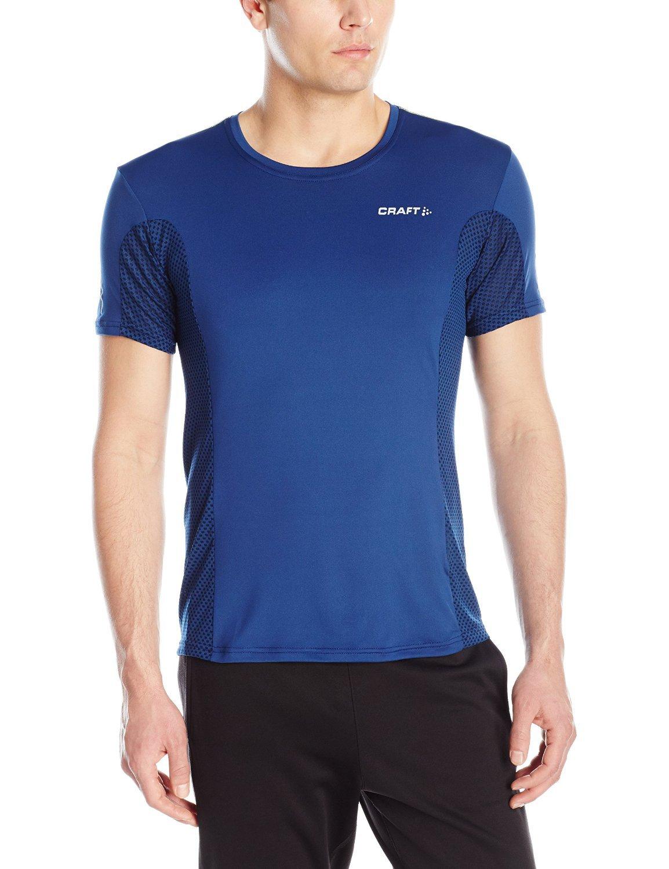 Мужская футболка для бега Craft Focus Mesh Tee (1903960-2381) синяя фото