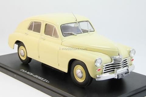 GAZ-M20 Victory beige 1:24 Legendary Soviet cars Hachette #3