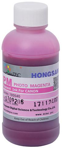 Чернила DCTec PFI-1700PM фото малиновый (photo magenta). 200мл пигмент (193540)
