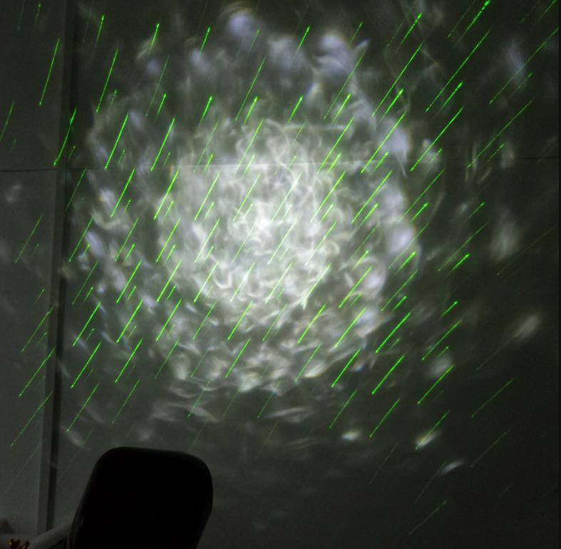 Лазерный Дождь и Волны с пультом