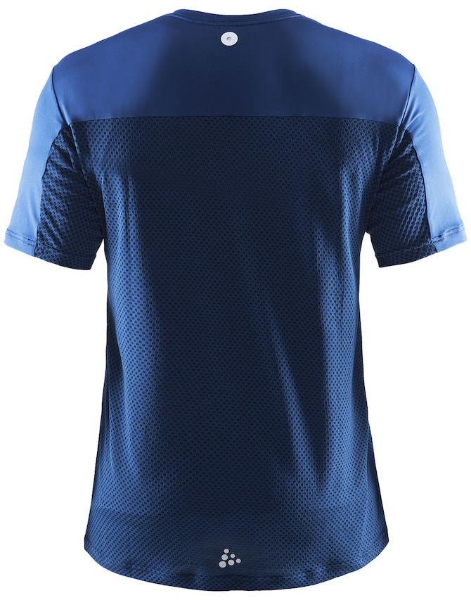 Мужская спортивная футболка Craft Focus Mesh Tee (1903960-2381) синяя