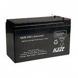 Аккумулятор HAZE HSC12-7 ( 7Ач 12В / 7Ah 12V ) - фотография