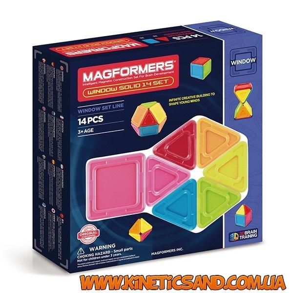 Magformers 3D окошки, 14 элементов