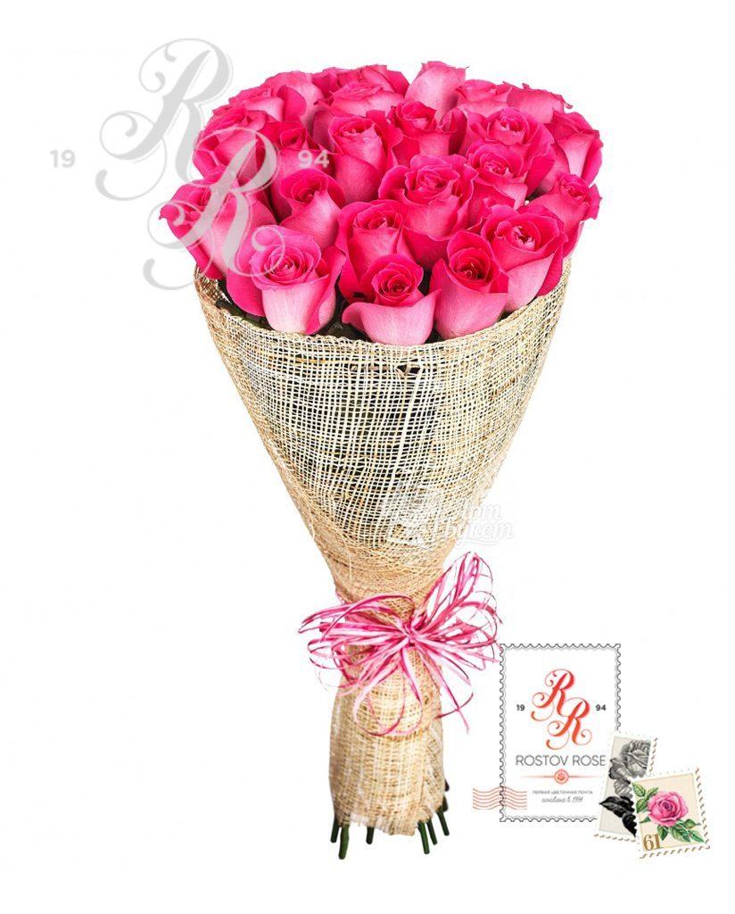 Букет роз Топаз