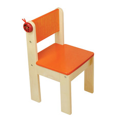 I'm Toy  Детский стульчик деревянный (оранжевый) (42022FR)