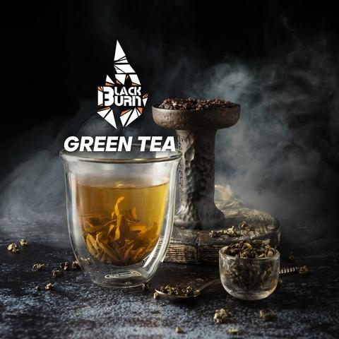 Табак Burn BLACK Green Tea (Зелённый чай) 20 г