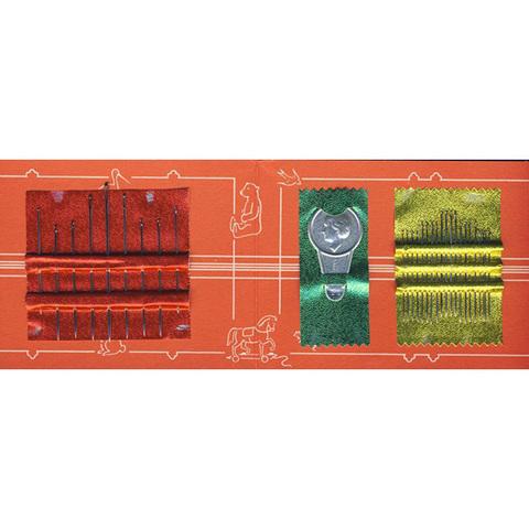 Набор ручных игл для шитья и штопки с нитковдевателем PRYM 128160
