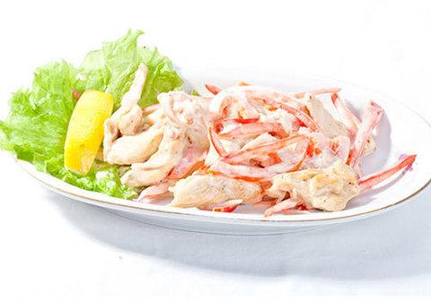 Мясо камчатского краба, лапша~1кг