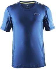 Мужская беговая футболка Craft Focus Mesh Tee 1903960-2381 синяя фото