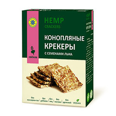Крекеры конопляные, Компас Здоровья, со свеклой, 150 г