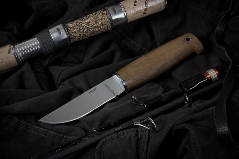 Туристический нож Норд Полированный Орех