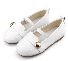 Туфельки «пуговка»