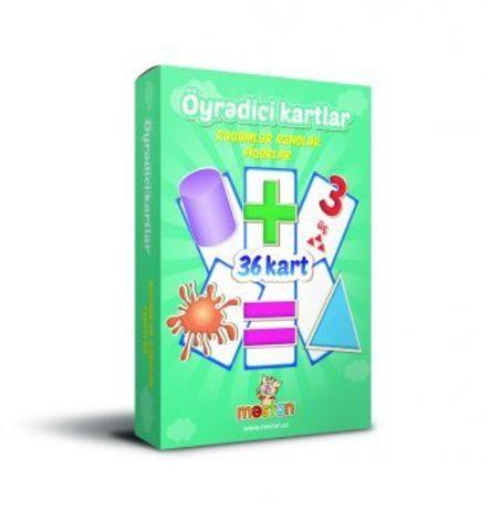 Öyrədici kartlar (rəqəmlər)