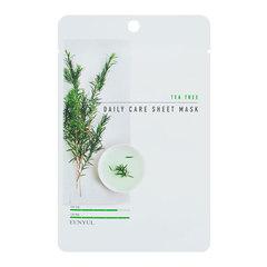 Eunyul Tea Tree Daily Care Sheet Mask - Тканевая маска для лица с экстрактом чайного дерева