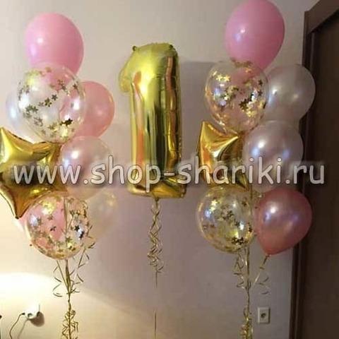 Оформление комнаты на годик девочке