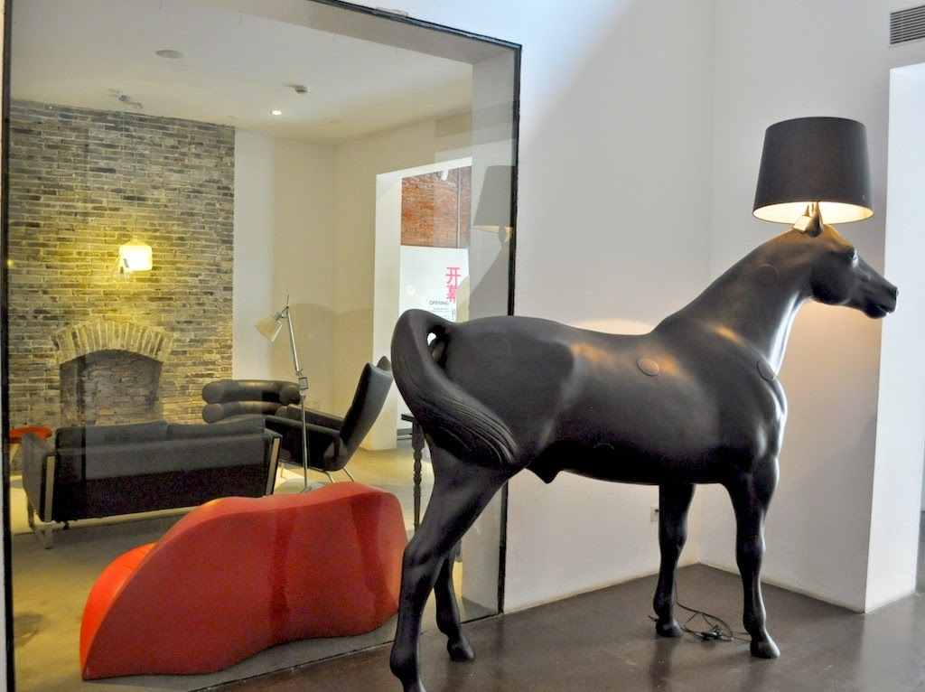 Replica Moooi Horse Floor Lamp