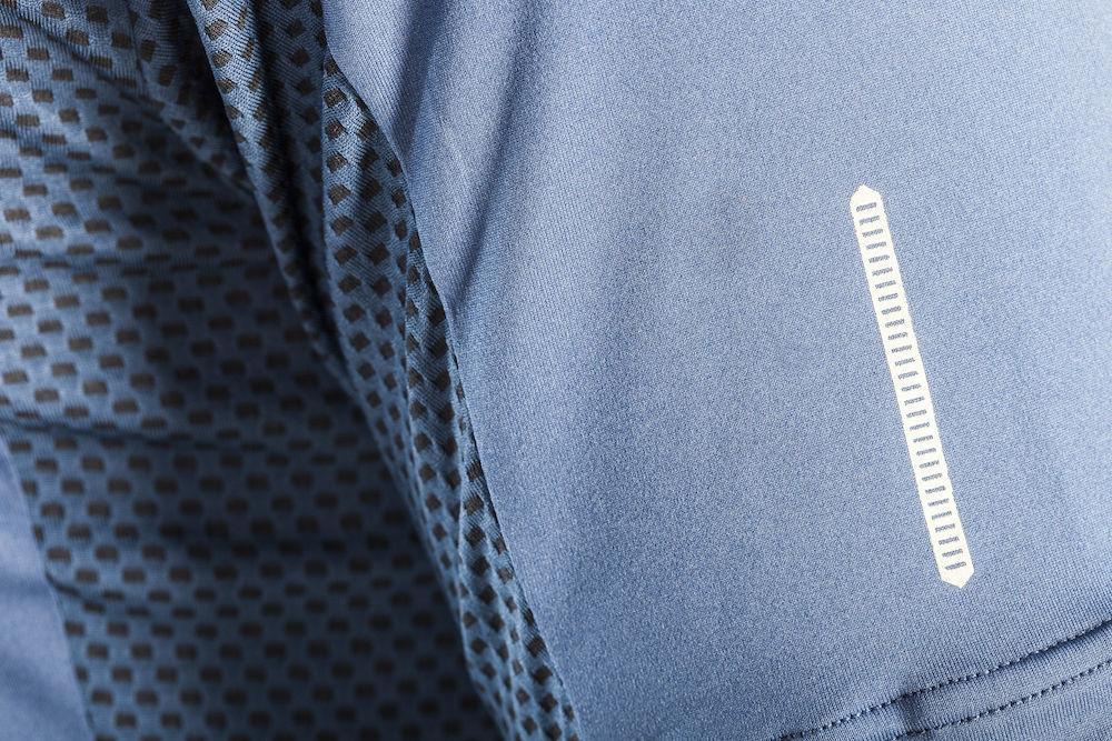 Мужская элитная беговая футболка Craft Focus Mesh Tee (1903960-2381) синяя
