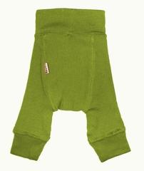 Пеленальные штанишки  длинные Babyidea Wool Longies, Зелёный (шерсть мериноса 100%)