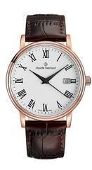 Мужские швейцарские часы Claude Bernard 53007 37R BR