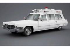 "1:43 Cadillac Superior 51+ ""Ambulance"" (скорая помощь) 1970 White"