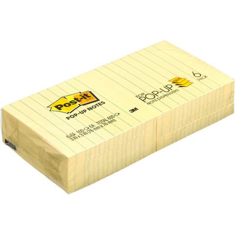 Стикеры Post-it Z-блок R335 76х76 6бл/уп. линованые