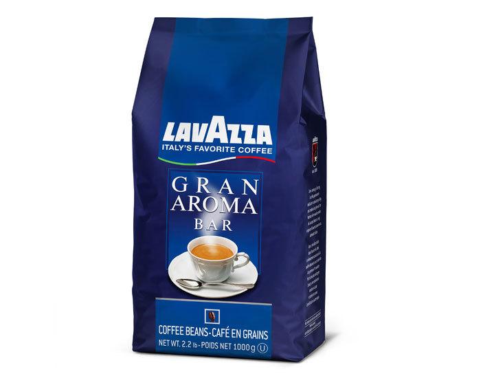 Кофе в зернах LavAzza Gran Aroma Bar, 1 кг (Лавацца)
