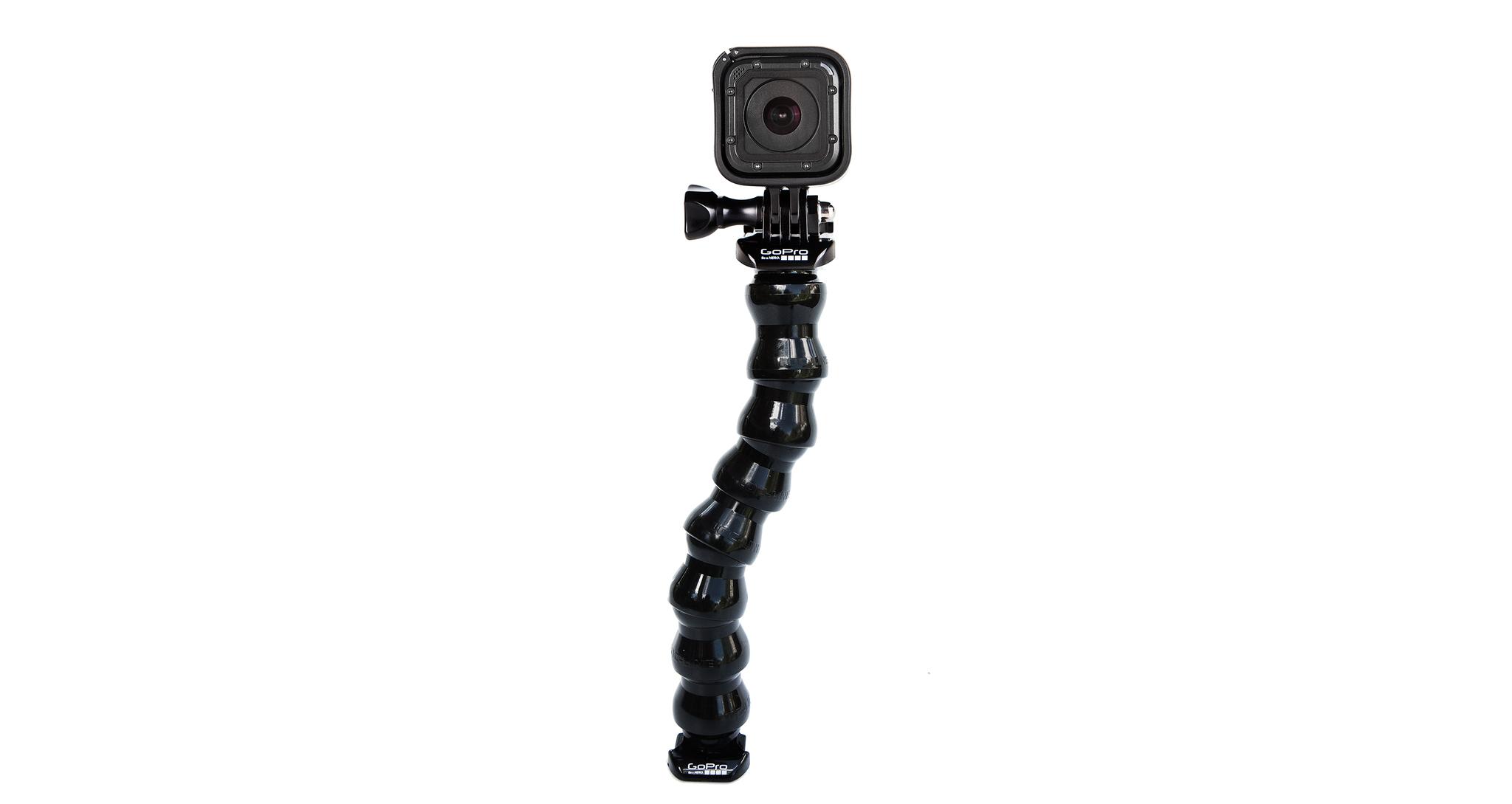 GoPro Gooseneck (ACMFN-001) с камерой GoPro session