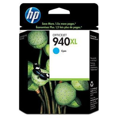 Картридж HP C4907AE (№940XL) для HP OfficeJet Pro 8000/8500 (голубой повышенной емкости, 1400 стр., 16 мл.)