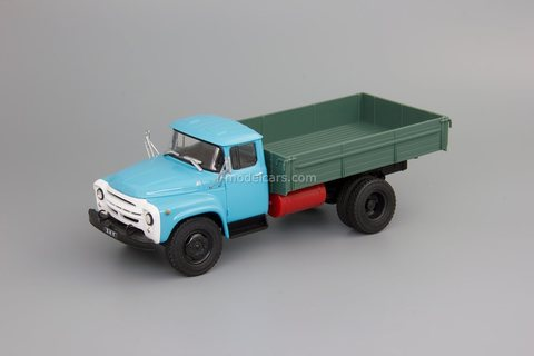 ZIL-138 gas balloon flatbed truck 1:43 DeAgostini Auto Legends USSR Trucks #39