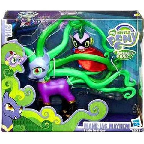 My Little Pony Могучие Пони Мэйн-иак и Спайк Дракон